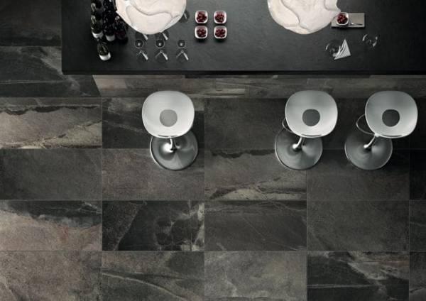 Impronta Italgraniti Stone Mix ARDESIA BLACK SQ 60x60