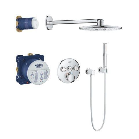 GROHE Grohtherm SmartControl Zestaw prysznicowy podtynkowy Rainshower 310 SmartActive 34705000