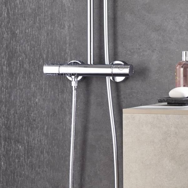 GROHE Euphoria System 260 System prysznicowy z termostatem do montażu ściennego 27296002
