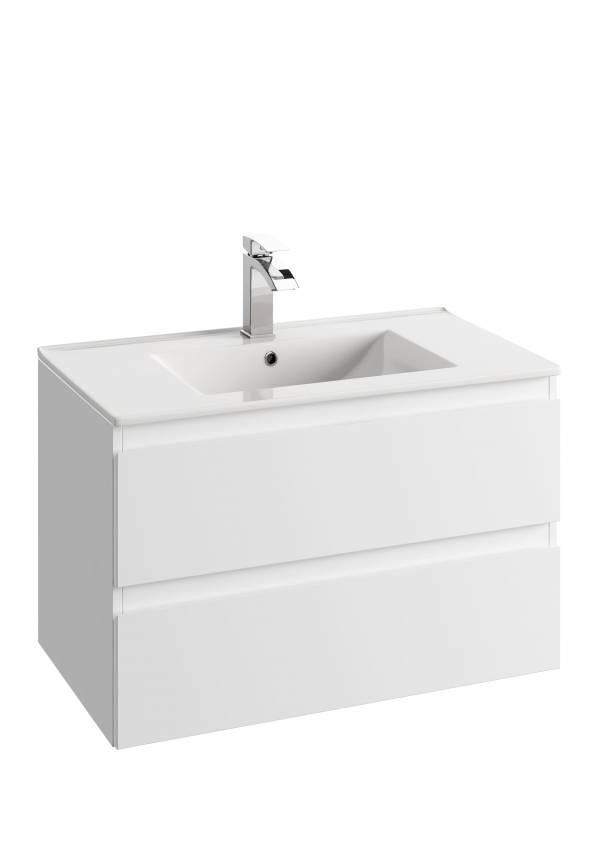 DEFRA Zestaw meblowy szafka z umywalką COMO 80 cm