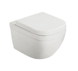 GROHE EURO CERAMIC Muszla WC do montażu ściennego z deską wolnoopadającą BIAŁA 39328000 + 39330000