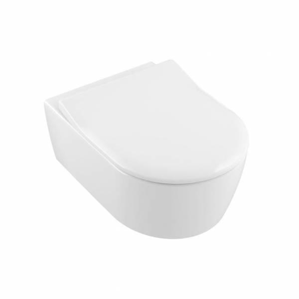 Villeroy & Boch AVENTO Miska WC podwieszana z deską wolnoopadającą 53x37 5656RS01