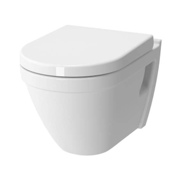 VITRA S50 Miska WC podwieszana z deską wolnoopadającą 52x36 7740B003-0075