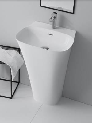 MARMITE umywalka NOA stojąca z konglomeratu 51,9x45x85 NOA0006