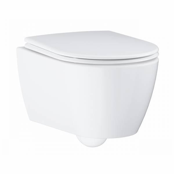 GROHE ESSENCE MISKA WC  do montażu ściennego z deską wolnoopadającą BIAŁA 3957100H+39577000
