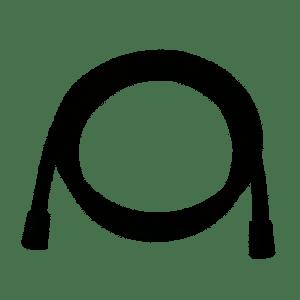 TRES Wąż FLEXO czarny połysk 1,5m 913440903