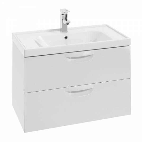 DEFRA Zestaw meblowy szafka z umywalką FLOU D 80 cm