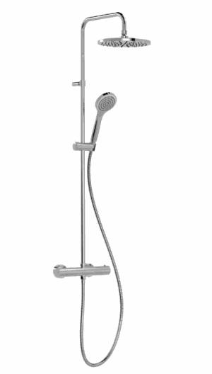 TRES BASE-PLUS zestaw prysznicowy z termostatem