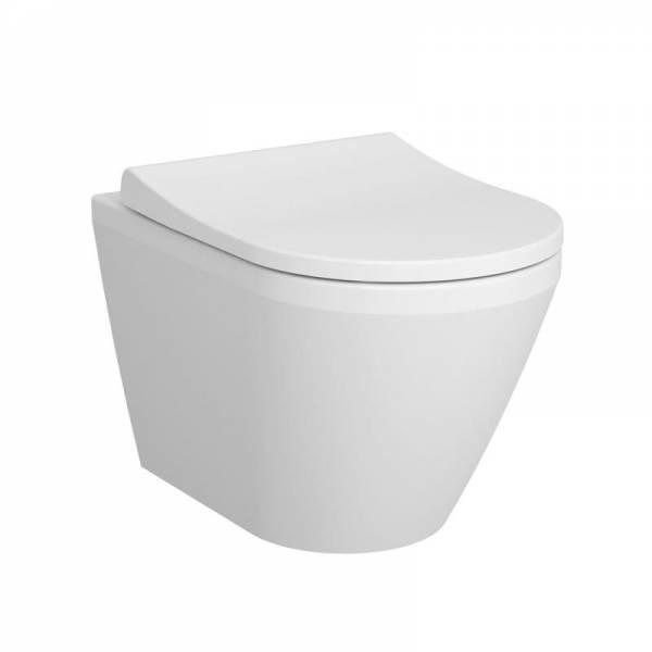VITRA Integra WC z deską Slim wolnoopadająca z funkcją łatwego wypinania 54x36