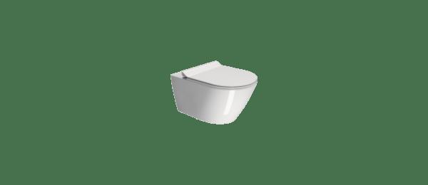 GSI KUBE X Miska WC podwieszana z deską wolnoopadającą SLIM 941511